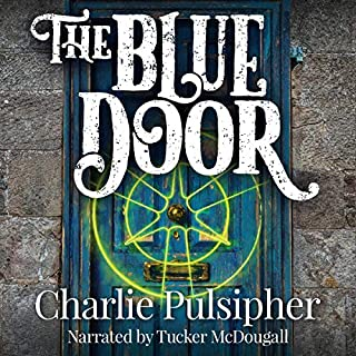 The Blue Door audiobook cover art