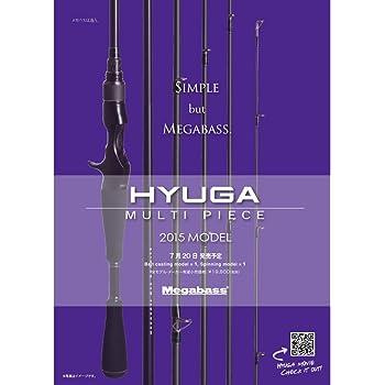 メガバス(Megabass) ロッド HYUGA MULTI PIECE(ヒューガ マルチピース)  (2015)  66-6ML