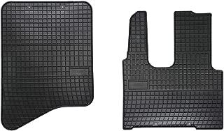 Gummifußmatten für Actros MP IV ohne Pneumatischer Beifahrersitz Automatten NEU