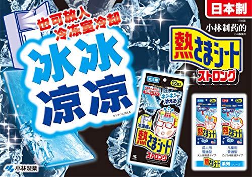 小林製薬『冷凍庫用熱さまシートストロング』