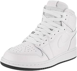 best website 19a60 66a24 Nike Air Jordan 1 Retro High OG BG, Chaussures de Sport - Basketball garçon