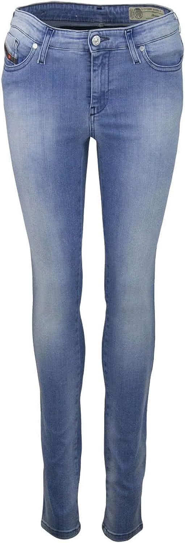 Diesel Womens Skinzee Skinny Jeans, Wash Code  084CR