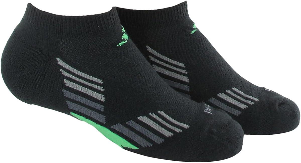 adidas Boys Climacool X II No Show Socks (Pack of 2)