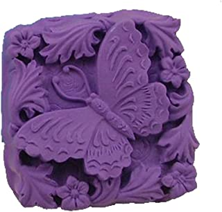 Longzang Pastorale Butterfly Animal Silicone Mold Craft Art Silicone Soap Mold Craft Molds DIY Handmade Soap Molds (S117)