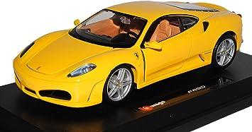 Bburago Ferrari F430 Coupe Gelb 2004 2009 1 24 Modell Auto Amazon De Spielzeug