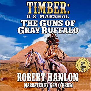 The Guns of Gray Buffalo audiobook cover art