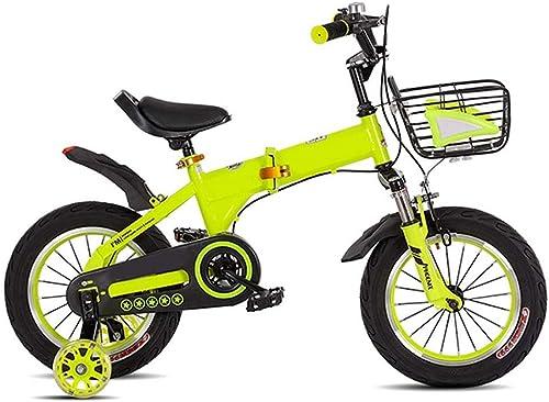 servicio honesto TOOSD bicycle Bicicleta Unisex para para para Niños con Diseño ergonómico de Alta y Baja Rueda de Destello Plegable Ajustable 3-10 años de Edad Bicicleta de Montaña Bicicleta de Ejercicio  Venta en línea precio bajo descuento