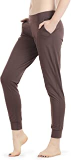 Athletic Joggers for Women - Lightweight Exercise Outdoor Lounge Pants with Pockets