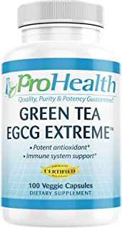ProHealth Green Tea EGCG Extreme (390mg EGCG, 100 Capsules) (Green Tea Supplement)