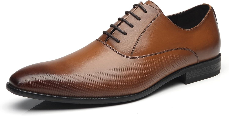 Faranzi Men Over item handling Max 71% OFF Dress Shoes Lace Up de Comfortable Zapatos Hombre Cl