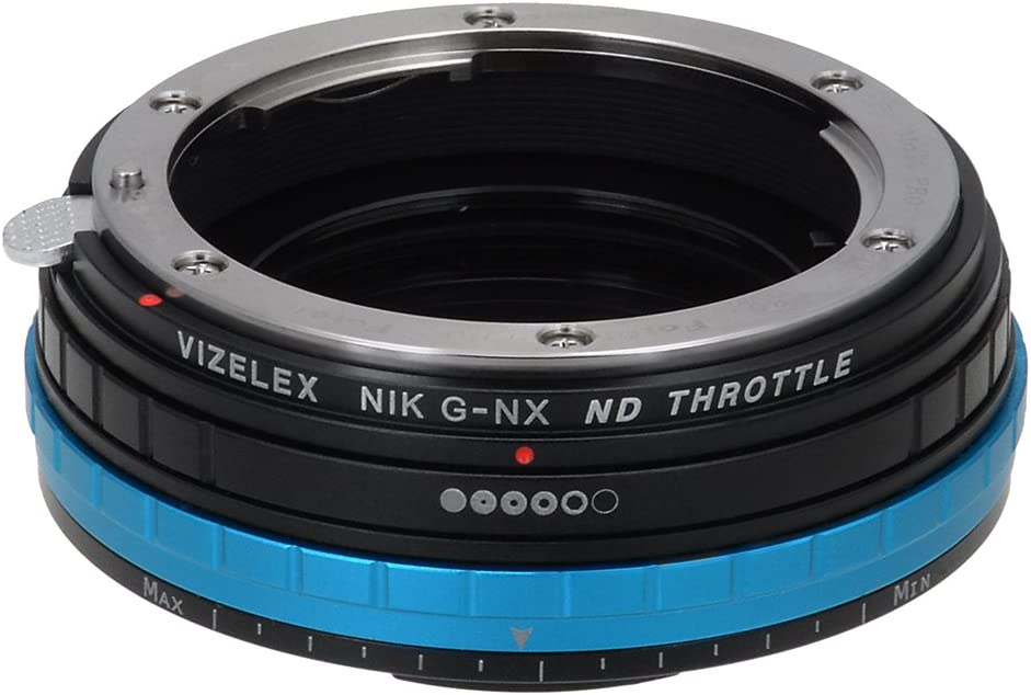 Vizelex ND Throttle Adapter from Fotodiox Pro G DX Bombing free shipping FX - Nikon Brand Cheap Sale Venue