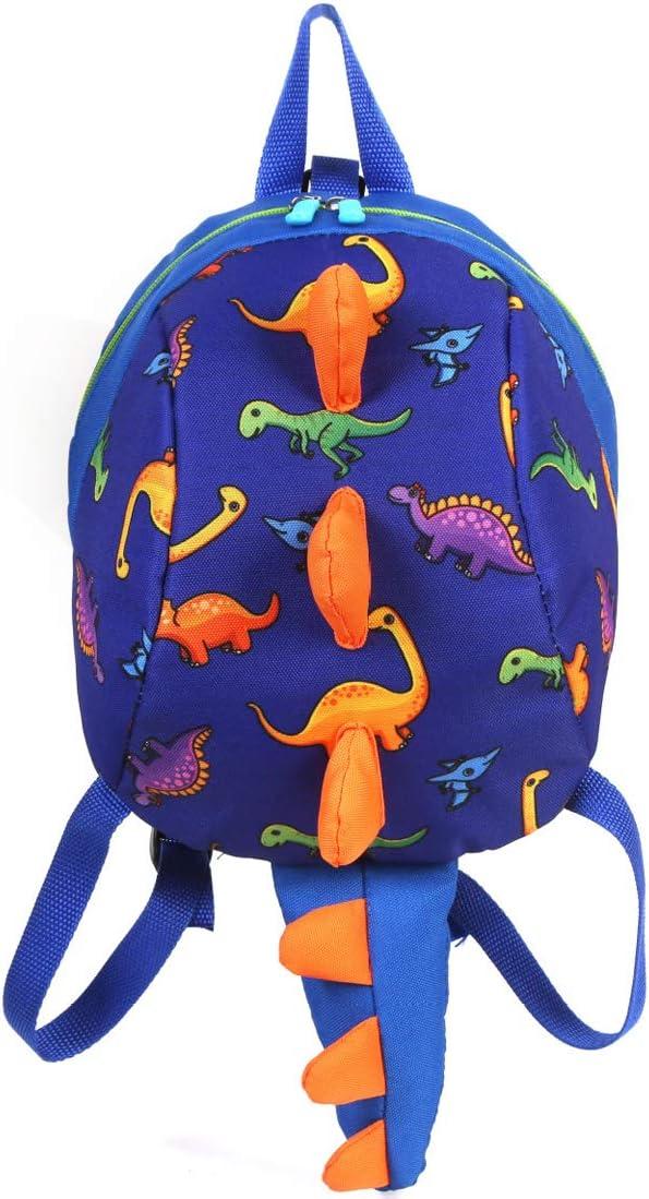 Suekoop Kids Backpack with Leash 1-3 Y Cute Dinosaur Toddler Baby Safety Harness Backpack