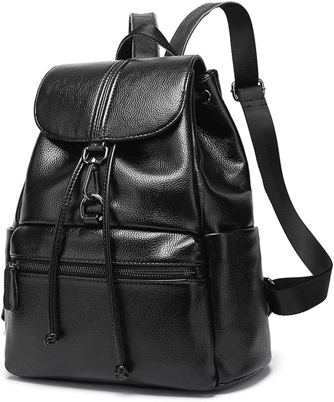 TRDyj Koreanische Version der Rucksack-Frauen der Wilden Gezeiten-Art- und Weiseleder-Reisetasche weibliche beiläufige weiche Leder diebstahlsichere Damen B07NXC92TT  Eigenschaften