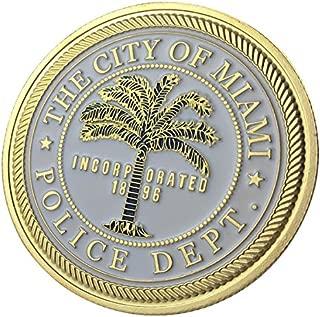 Miami Police Department / MPD G-P Challenge coin 1124#