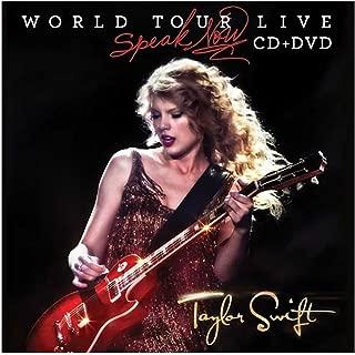 TAYLOR SWIFT テイラースウィフト - スピーク ナウ・ワールド ツアー・ライヴ[通常盤][+DVD] 【CD】 / CD・DVD・レコード