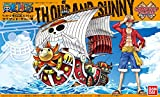 Maqueta Barco Thousand Sunny, 15 cm. One Piece. Bandai