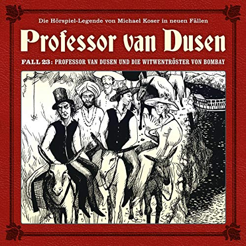 Couverture de Professor van Dusen und die Witwentröster von Bombay