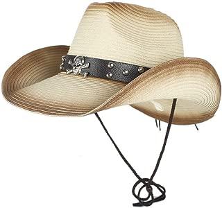 LiWen Zheng Western Cowboy Hats Men Women Summer Straw Cowgirl Party Costume Crimping Western Hat Sombrero Hombre Cowboy Hats For Men