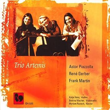 Piazzolla, Gerber, Martin: Trios for Violin, Cello & Piano