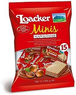 Loacker Minis Napolitaner, 150 gm