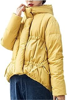 [ネコート] ダウンジャケット ショート丈 オーバーシルエット コート 防寒 オシャレ カジュアル 冬 レディース M〜XL