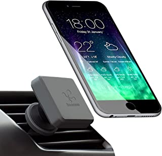 Koomus Pro Air-M Air Vent Universal Magnetic Cradle-less Smartphone Car Mount for all iPhone and Android Devices