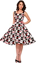 Hearts & Roses Deuces Wild Dress (Shipped from US and US Sizes)