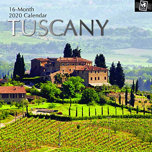 2020 Wall Calendar - Tuscany Calendar, 12 x 12 Inch Monthly View, 16-Month, Includes 180 Reminder Stickers