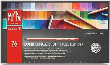 Caran d'Ache Luminance 6901 Clr Pncl Set 76 Artist Rng