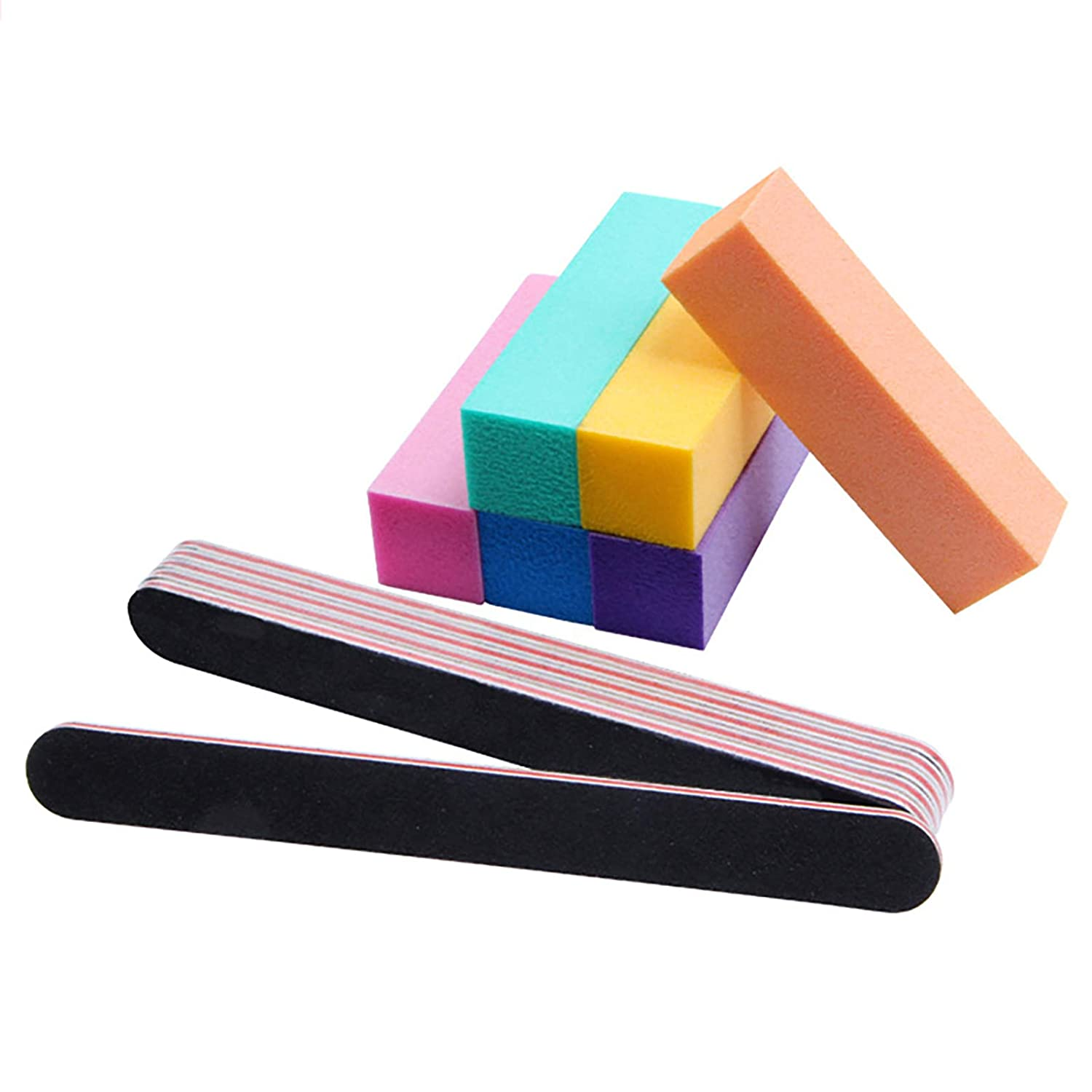 Nail Files Free Sale SALE% OFF Shipping New and Buffer Professional Tools Rectangul Kit Manicure