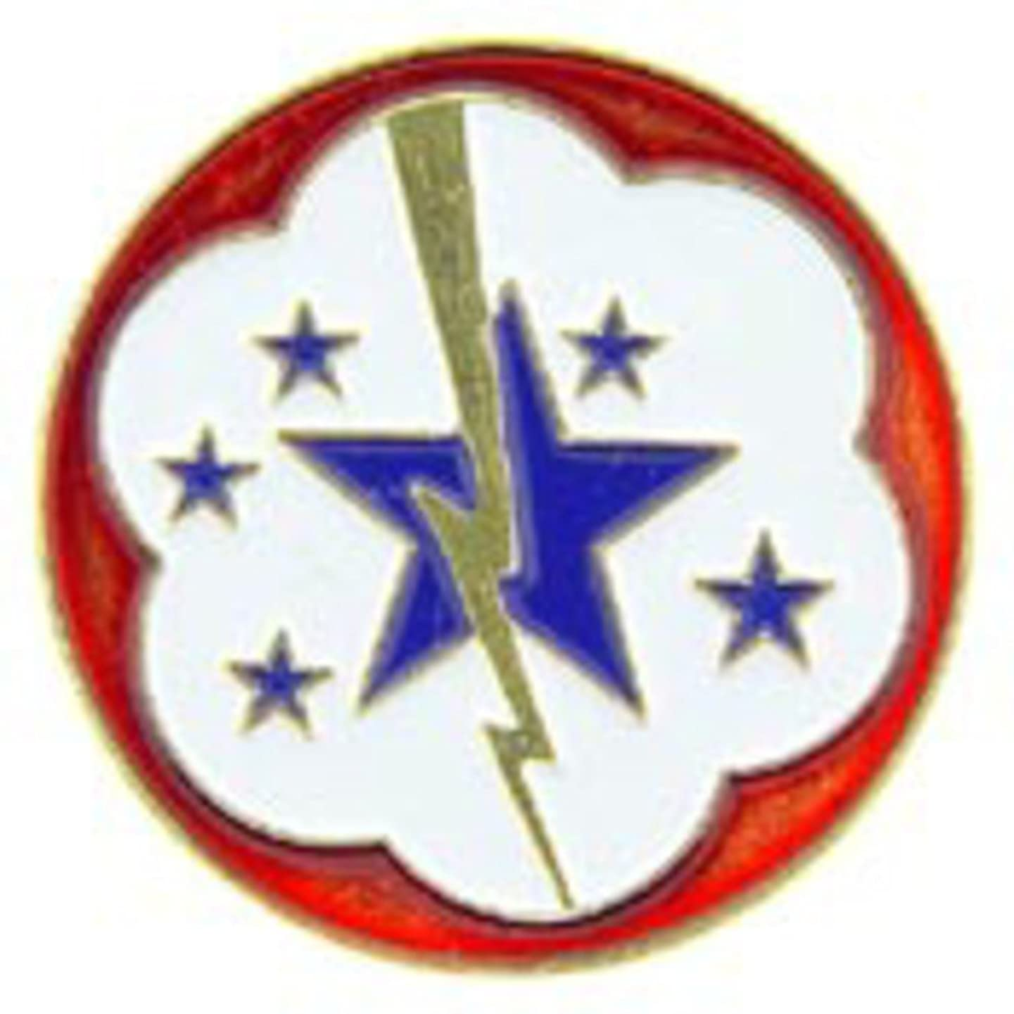 EagleEmblems P62402 Pin-Army,US Forc.West Pac (1'')