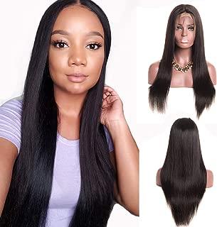 Clearance Sale Kreesi 360 Lace Frontal Human Hair Wig Straight 360 Lace Wigs Straight Human Hair Wigs Brazilian Virgin Human Hair Wigs Pre Plucked With Baby Hair 150% Density