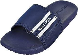Nautica Kids Cecil Velcro Slip-On Sandal, Athletic Slide