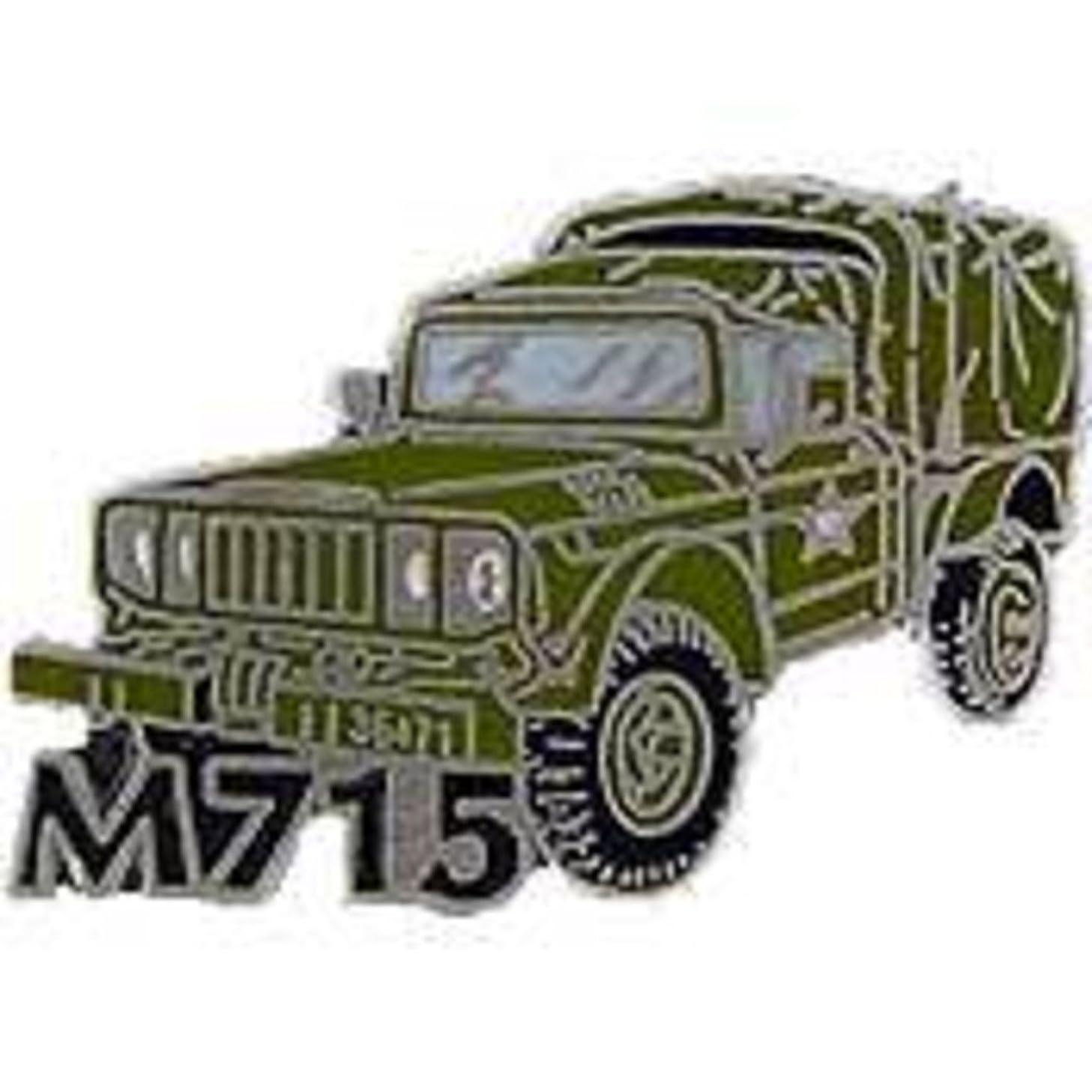 EagleEmblems P02042 Pin-Jeep,M715 (1'')