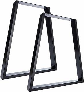 Pieds Pour Table Haute.Amazon Fr Pied De Table Metal 3 Etoiles Plus