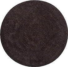 Grund Bath Rug 32 mm, Ultra Soft and Absorbent, Anti Slip, LEX, 80 cm Round, Mocca
