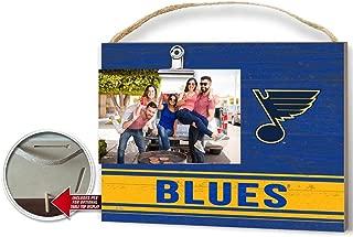 KH Sports Fan Clip It Colored Logo Photo Frame St. Louis Blues