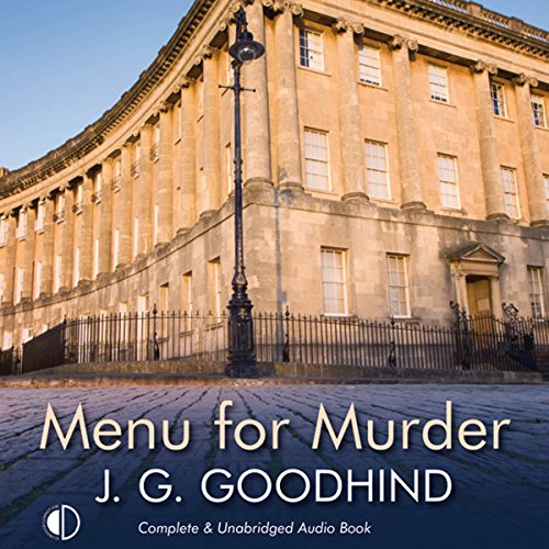 Menu for Murder audiobook cover art