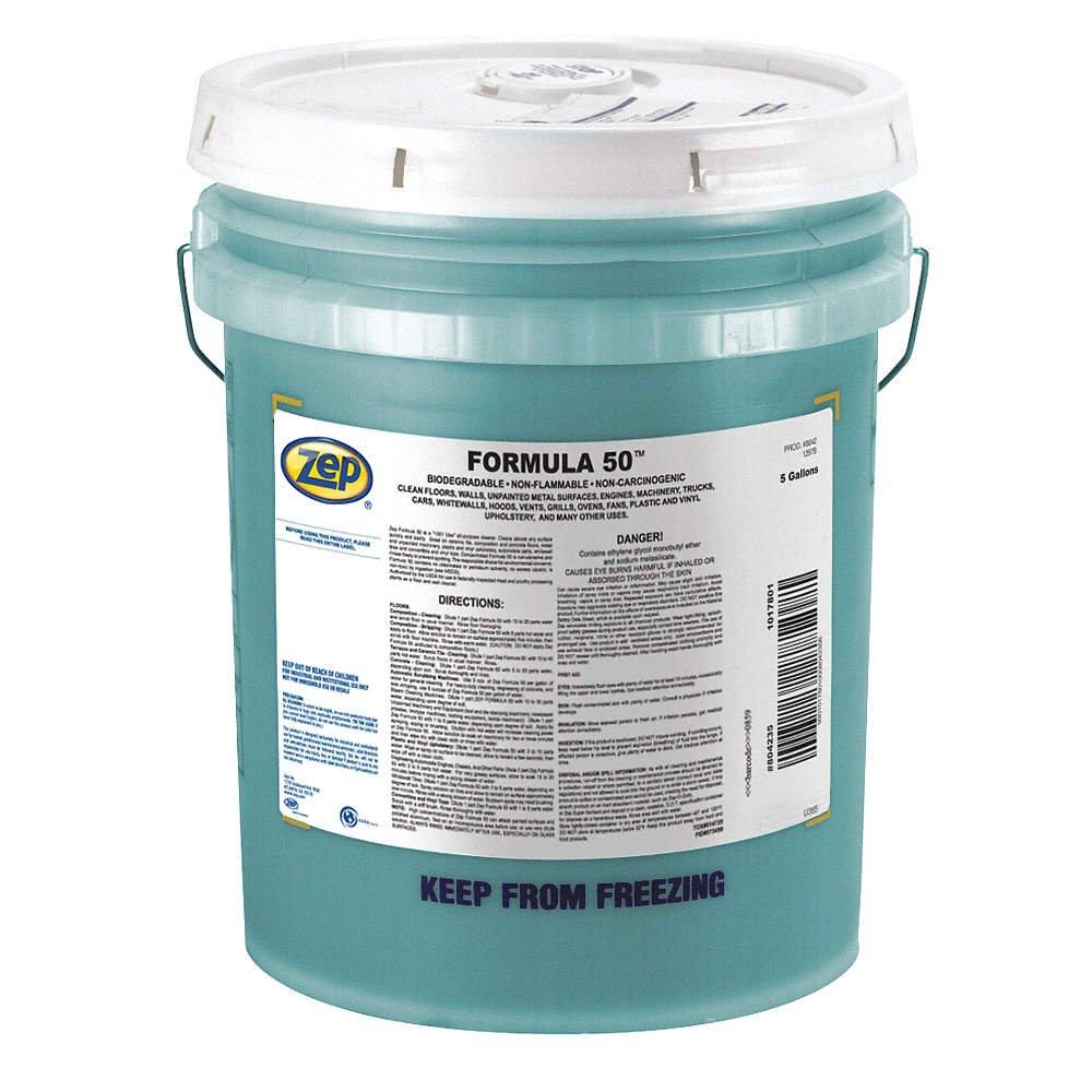 Zep fórmula 50 (5 gallon cubo) Heavy Duty Limpiador Desengrasante ...