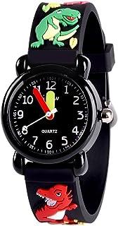 ساعة دودوسكي مقاومة للماء للاطفال، تصميم كرتوني ثلاثي الابعاد - أفضل الهدايا