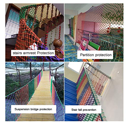 TorchJPA Polychromatic Multifunctional Rope Net Protective Net White Net Sunshade Net Bird Net Staircase Home Decoration Family Protection Pet Protection Commodity Protection Safety Decoration