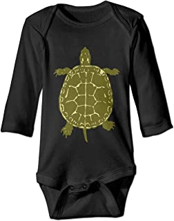 Infant Baby Boy Girl Native American Turtles Long Sleeve Romper Jumpsuit, Comfortable Cotton Bodysuits Coverall Jumpsuit