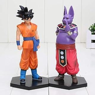 16cm / 2Pcs Dragon Ball Z Figuras Goku Champa PVC Figura de acción Colección Modelo Juguetes para niños