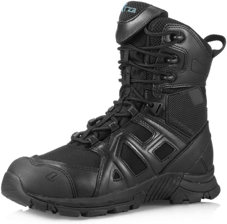 ASJUNQ Mans bästa Martin Boots Boots Boots Non -Slip Desert Boots Vattentäta Chelsea Wear -Resistent Hiking skor  köp bäst
