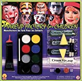Makeup Factory for Children with Glitter, Fake Blood, Scar Wax and Black Tooth Wax