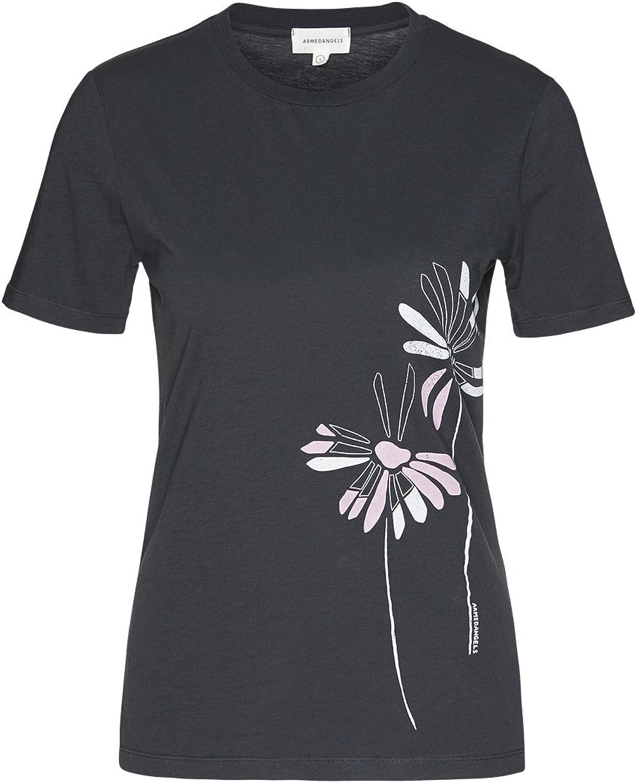 ARMEDANGELS Damen T-Shirt aus Bio-Baumwolle - LIDA LIDA LIDA Big Flower - Fairtrade, GOTS, Organic, CERES-08 B07D3142J9  Qualität zuerst e78c80