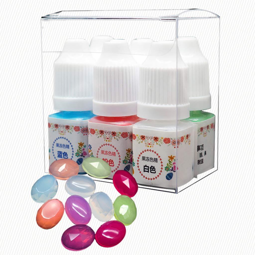 Wanfor - Pegamento UV de resina epoxi, pigmento de gelatina ...