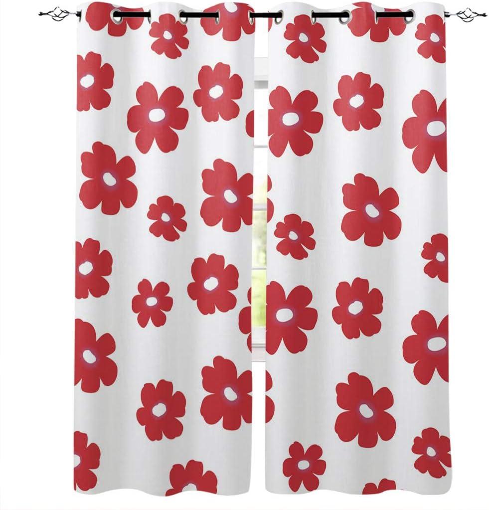 Brawvy Window Curtain ハイクオリティ Panels Bedroom Draperies 52