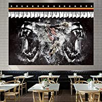 ジェームズバスケットボールスター6#ぶら下げ布、熱い火事チーム背景布3D印刷タペストリーベッドルーム寮のベッドサイドの壁の布の装飾絵画 C-150*110CM