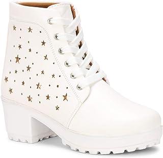White Women's Boots: Buy White Women's